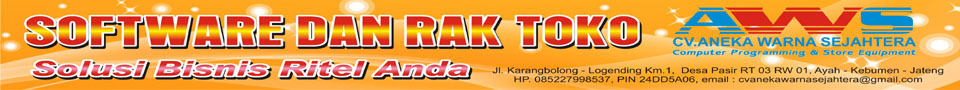 Software Toko dan Kasir
