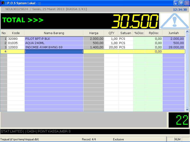 Software toko dan software kasir MKT