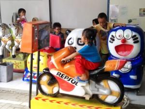 Kiddi Ride / Mainan Koin Anak di Minimarket atau Supermarket